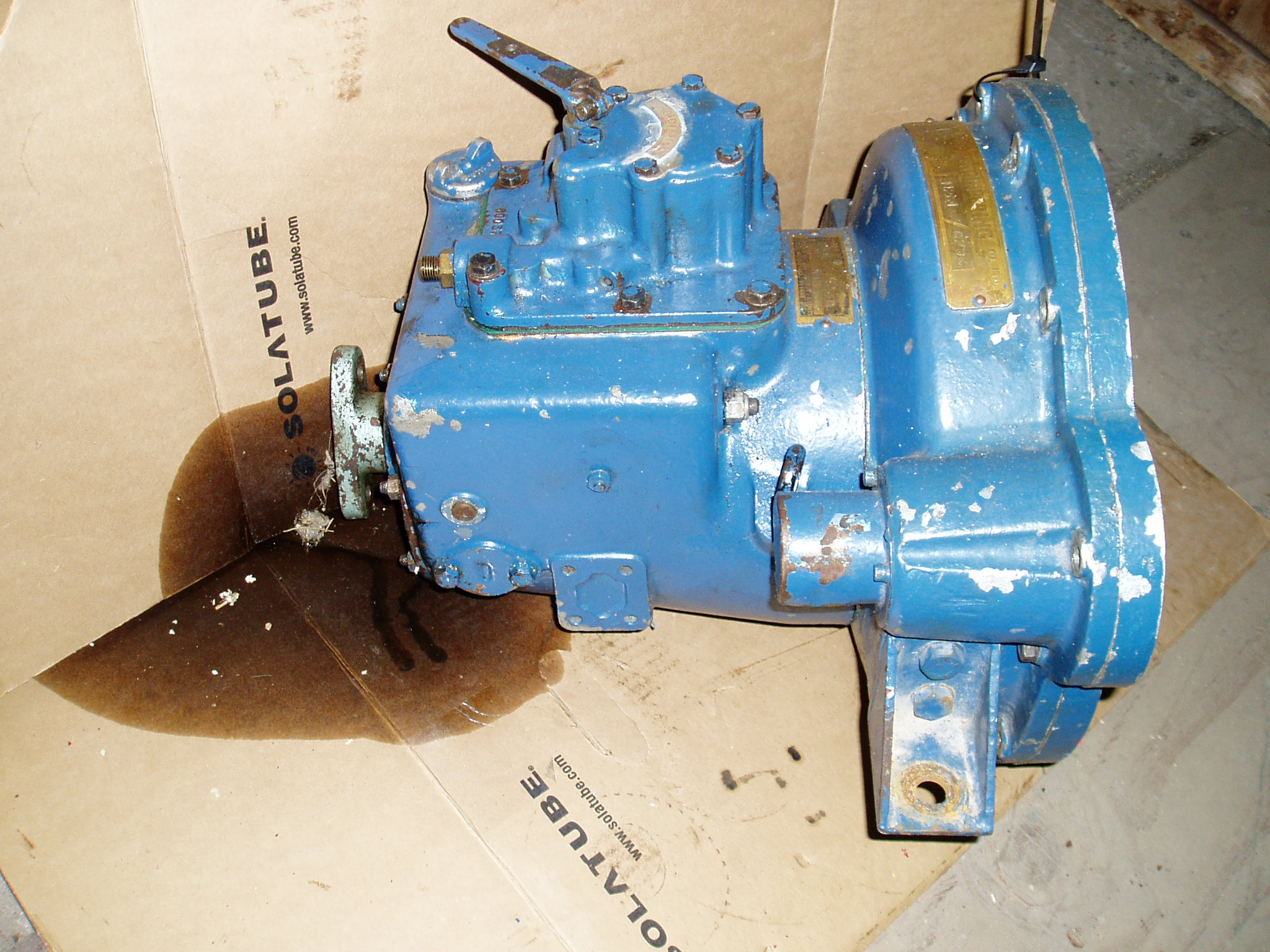 Parsons type C gearbox