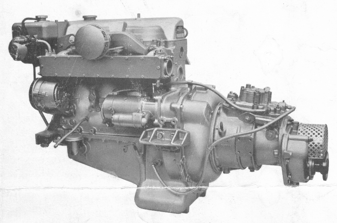 Parsons Pike II engine